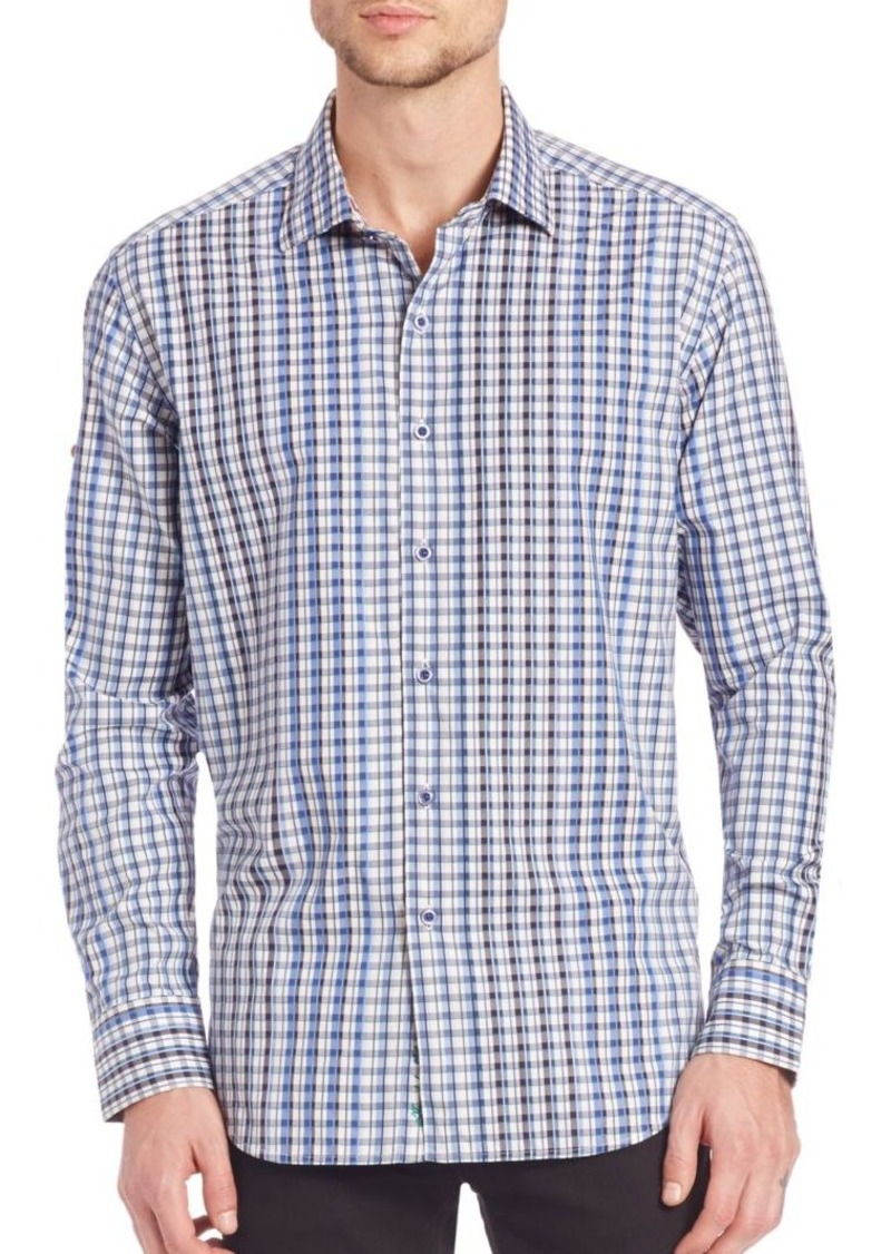 Robert Graham Rusty Gingham Shirt
