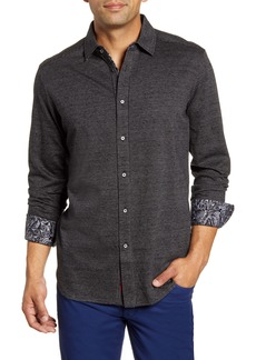 Robert Graham Ruyter Regular Fit Button-Up Sport Shirt