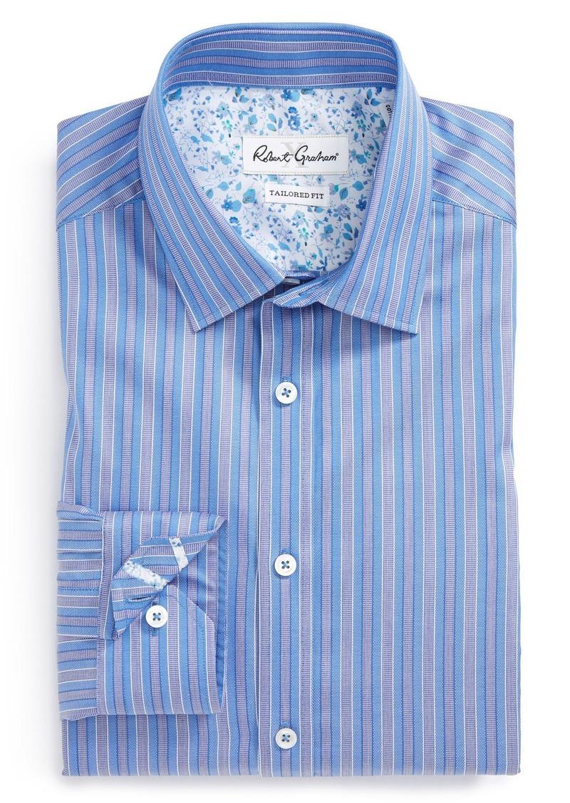 Sale robert graham robert graham 39 sacco 39 tailored fit for Tailoring a dress shirt