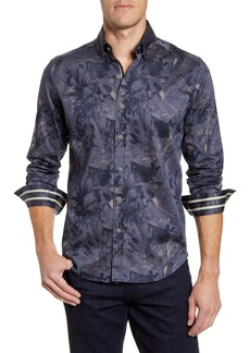 Robert Graham Salger Classic Fit Button-Up Sport Shirt