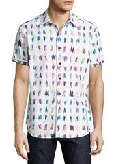 Robert Graham Saline Lakes Short-Sleeve Sport Shirt