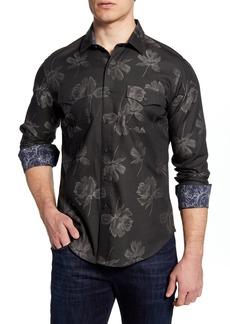 Robert Graham Sammy Classic Fit Floral Button-Up Shirt