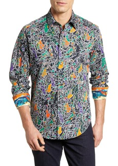 Robert Graham Samurai Classic Fit Sport Shirt