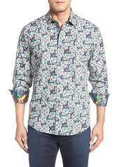 Robert Graham 'Sant'Angelo' Regular Fit Medallion Sport Shirt