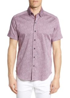 Robert Graham Scott Regular Fit Print Sport Shirt
