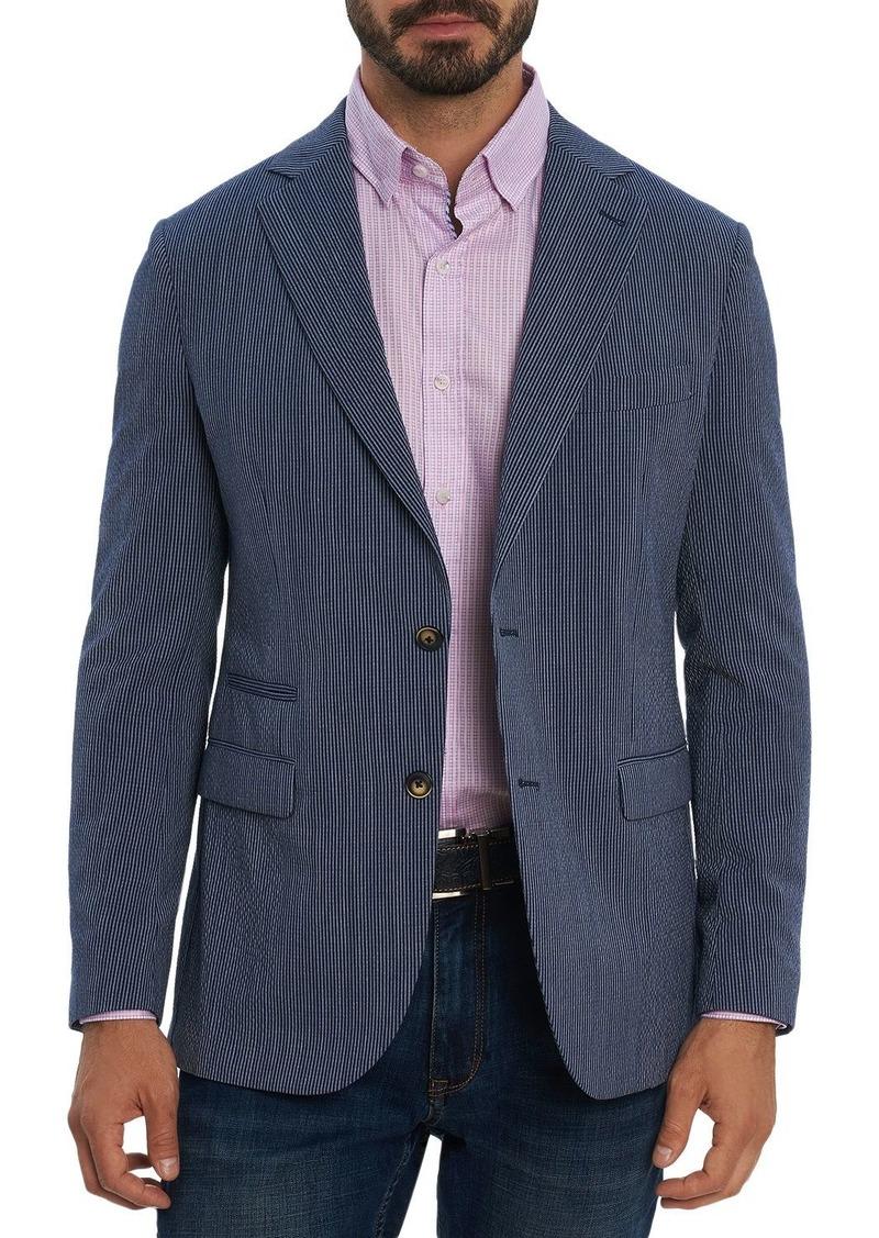 Robert Graham Seersucker Tailored Fit Sport Coat