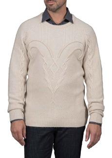 Robert Graham Slim Fit Fortitude Cashmere Sweater