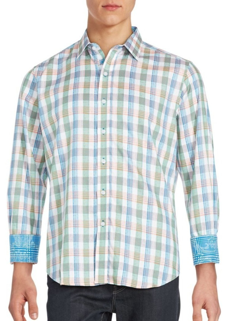 Robert Graham Soft Plaid Sportshirt