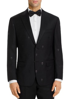 Robert Graham Sparkle Skull Jacquard Classic Fit Dinner Jacket