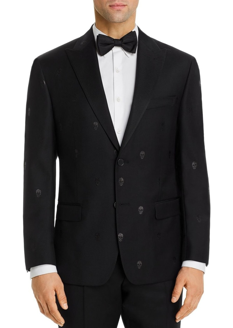 Robert Graham Sparkle Skull Jacquard Classic Fit Dinner Jacket