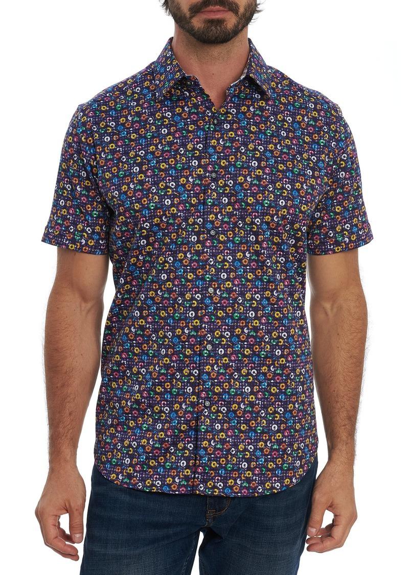 Robert Graham Spin Me Round Short Sleeve Shirt
