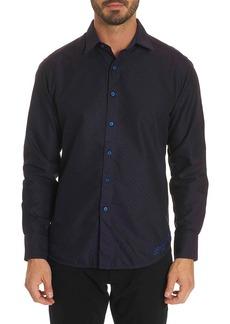 Robert Graham Spruce Classic Fit Sport Shirt