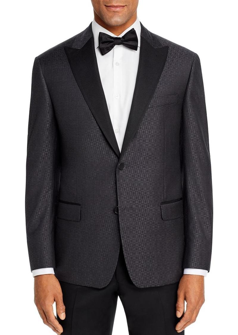Robert Graham Square Jacquard Classic Fit Dinner Jacket