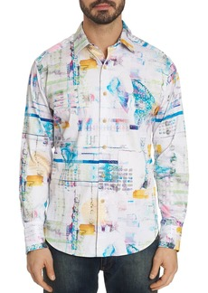Robert Graham Stagecoach Abstract-Print Classic Fit Shirt