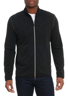 Robert Graham Stallworth Two-Way Zip-Up Sweatshirt