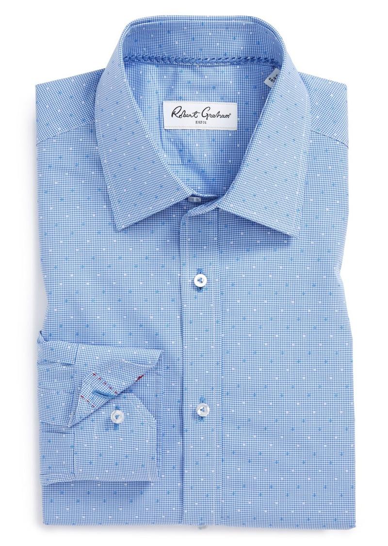 Robert graham robert graham 39 stan 39 regular fit micro for Regular fit dress shirt