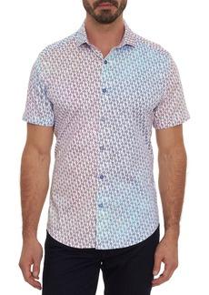 Robert Graham Stick Figure Short Sleeve Shirt