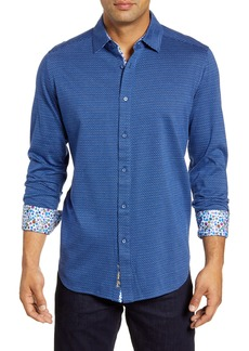 Robert Graham Stolhart Regular Fit Button-Up Sport Shirt