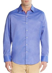 Robert Graham Tailored-Fit Houseboat Cotton Sportshirt