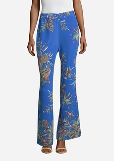 Robert Graham Tamara Jungle Tiger Printed Pants