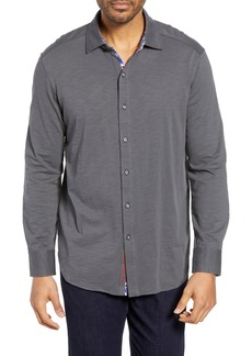 Robert Graham Tambun Classic Fit Knit Sport Shirt