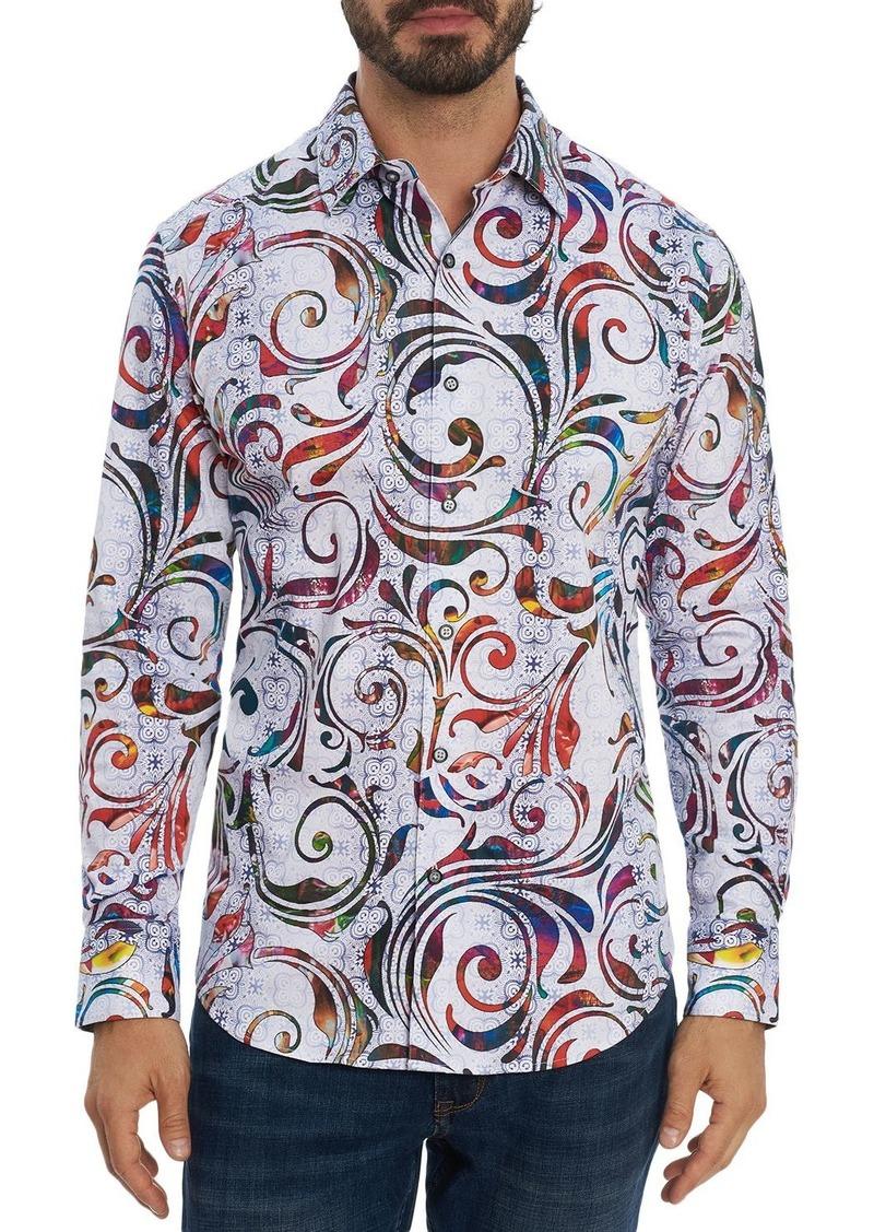 Robert Graham Tempo Classic Fit Long Sleeve Shirt