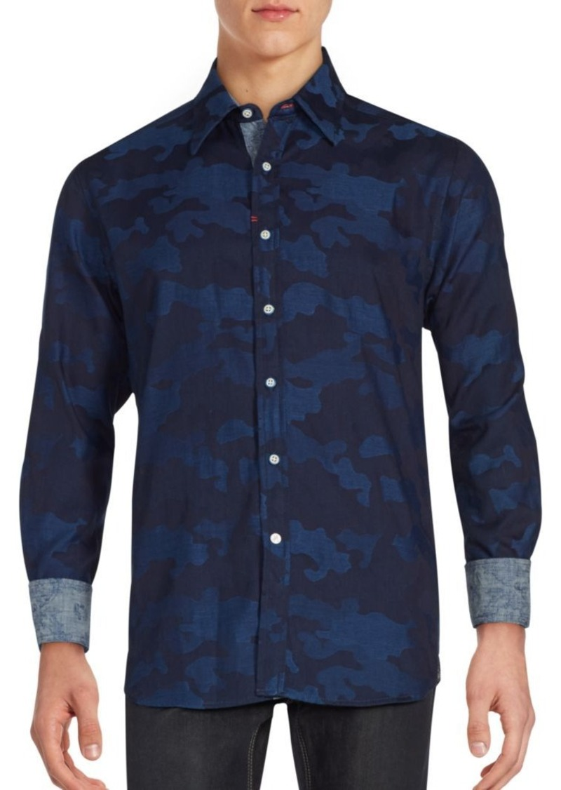 Robert Graham Tenere Camouflage Sportshirt