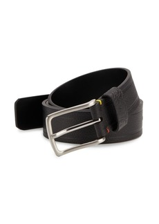 Robert Graham Textured Faux Leather Belt