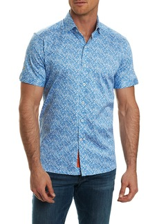 Robert Graham Thad Tailored Fit Paisley Sport Shirt