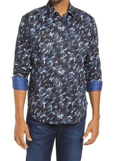 Robert Graham The Amerigo Classic Fit Patterned Button-Up Shirt