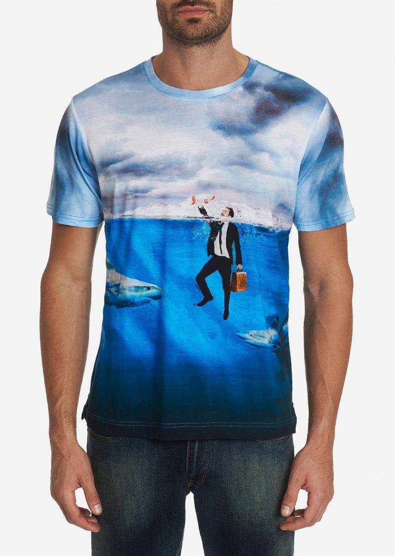 Robert Graham The Great White Shark T-shirt