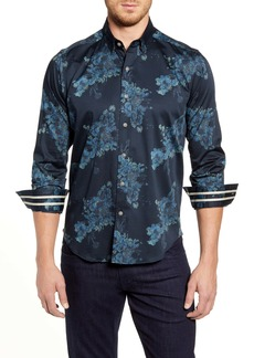 Robert Graham Thomas Regular Fit Floral Button-Up Sport Shirt