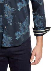 Robert Graham Thomas Regular Fit Floral Button-Up Sport Shirt
