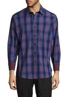 Robert Graham Tonal Plaid Shirt