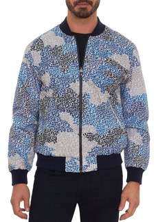 Robert Graham Toy Soldiers Print Classic Fit Bomber Jacket