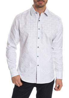 Robert Graham Transient Classic Fit Print Sport Shirt