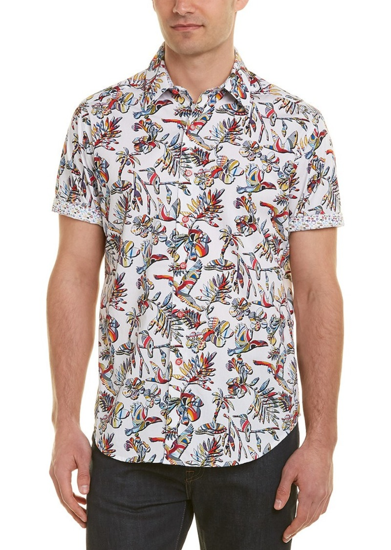Robert Graham Triggerfish Classic Fit Woven Shirt