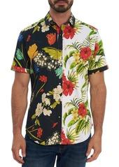 Robert Graham Two Faced Classic Fit Short Sleeve Shirt