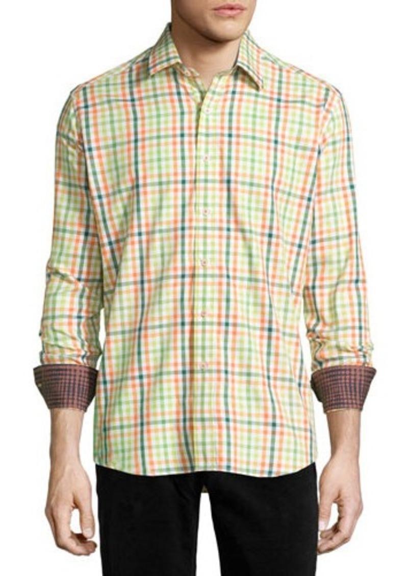 Robert Graham Ulysses Long-Sleeve Plaid Sport Shirt