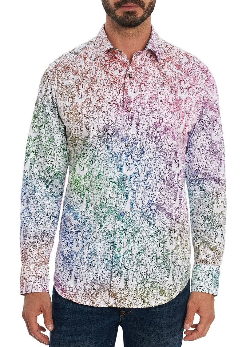 Robert Graham Upsetters Classic Fit Long Sleeve Shirt