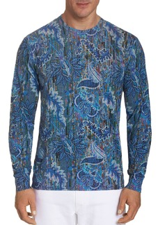 Robert Graham V12 Classic Fit Long-Sleeve Tee