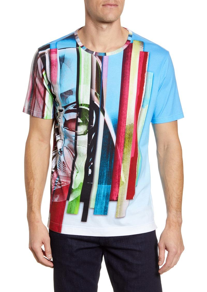 Robert Graham Vader Saber Graphic T-Shirt