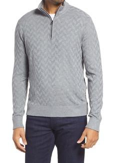 Robert Graham Vasa Quarter Zip Sweater