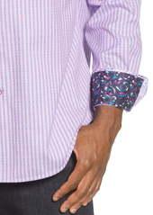 Robert Graham Ventura Regular Fit Button-Up Sport Shirt
