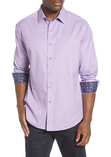 Robert Graham Ventura Regular Fit Button-Up Sport Shirt
