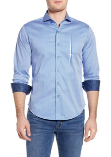 Robert Graham Voyeur Regular Fit Stripe Button-Up Shirt