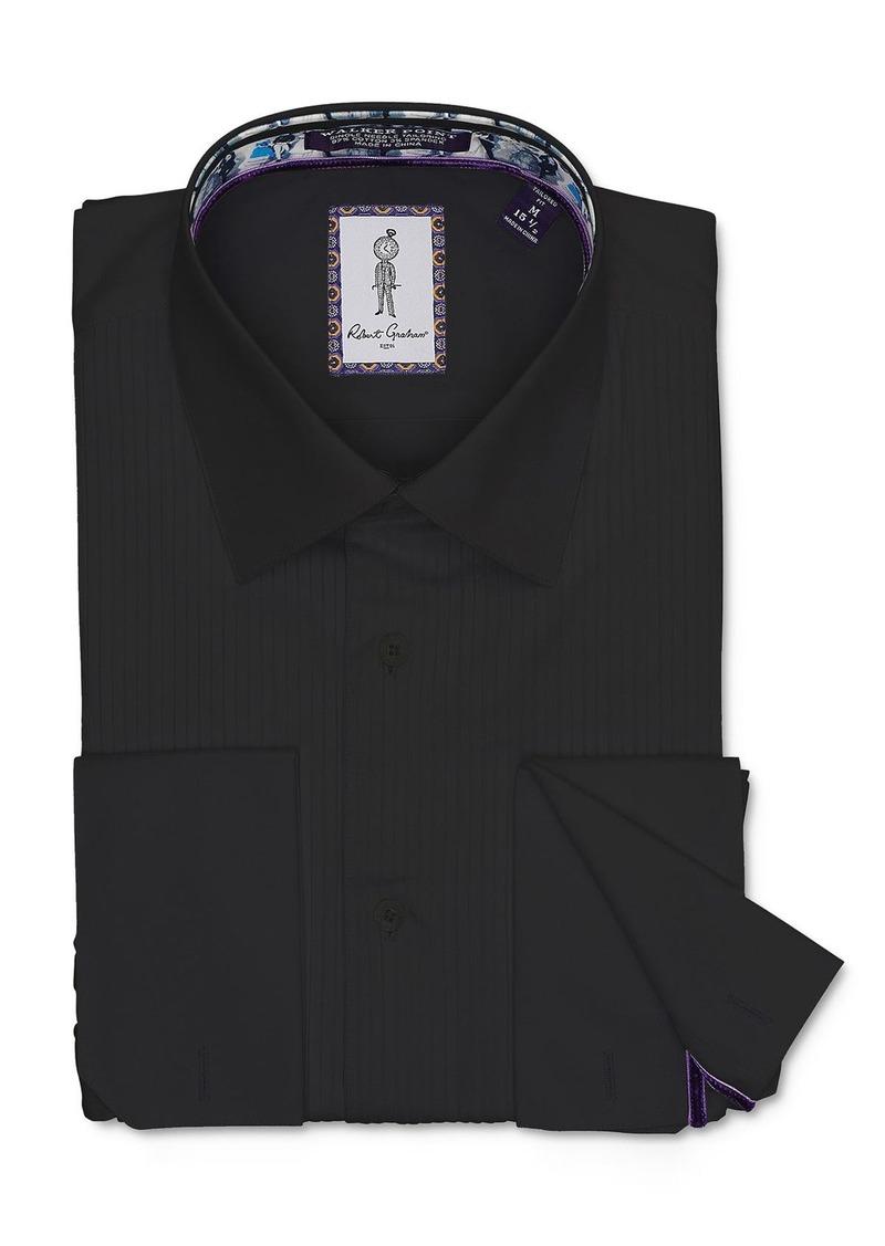 Robert Graham Whitby Tonal Stripe Regular Fit Dress Shirt