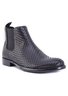 Robert Graham Woodward Woven Chelsea Boot (Men)