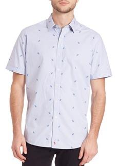 Robert Graham Woven Plaid Shirt
