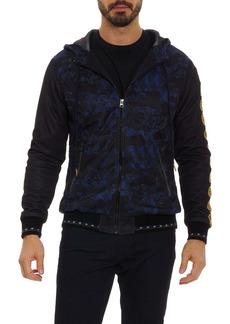 Robert Graham x Marvel Vibranium Zip Front Hoodie